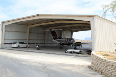 Lajitas International Airport Hanger